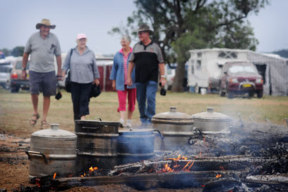 Flagship Funding announced for Drover's Campfire